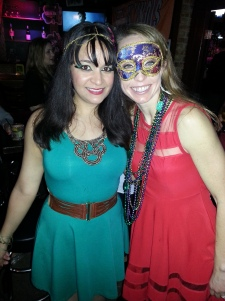 Modern Cleopatra and friend. Fabulous, right?