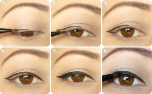 Apply liner after you've added your favorite shadow or where alone!